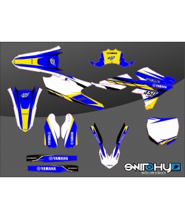 HURRICAN BLUE YELLOW - YAMAHA YZ-F 450 2014 - 2017