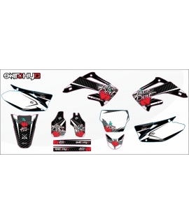 LOVE DIRT BLACK - HONDA CR 125 - 250 R 2003 - 2007