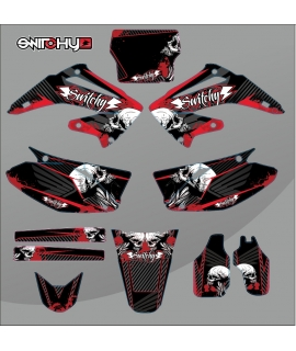 SKULLZ - HONDA CR 125 - 250 R 2003 - 2007