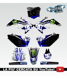 ROCK CAMO BLUE - HONDA CRF 250 R 2004 - 2005