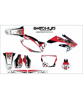 GAMBLING BLACK - HONDA CRF 250 R 2004 - 2005