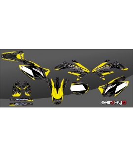 CORNER YELLOW - HONDA CRF 250 R 2006 - 2007