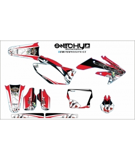 GAMBLING RED - HONDA CRF 250 R 2006 - 2007