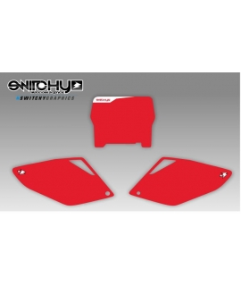 RED PLATES - HONDA CRF 250 R 2006 - 2007