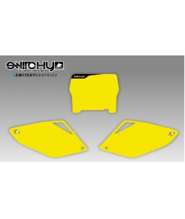 YELLOW PLATES - HONDA CRF 250 R 2006 - 2007