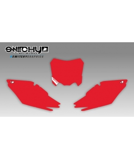 RED PLATES - HONDA CRF 250 R 2014 - 2017