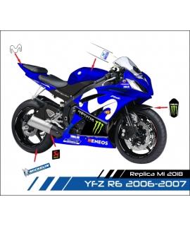 REPLICA MOTOGP M1 2018 - R6 2006-2007