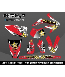 WINGS RED - HM 50 MOTARD