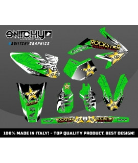 WINGS GREEN - HM 50 ENDURO
