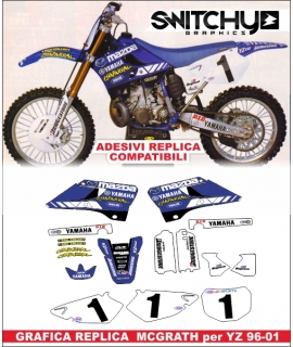 REPLY MCGRATH - YAMAHA YZ 125 250 2996 - 2001