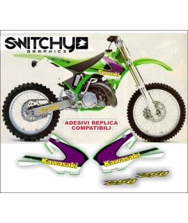 REPLY GRAPHICS - KAWASAKI KX 250 1998