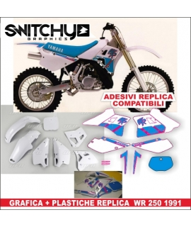 PLASTICS + DECALS REPLY - YAMAHA WR 250 1991