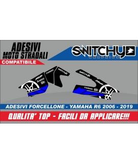RACE TRACK - ADESIVI PROTEZIONE FORCELLONE R6 2006 - 2019