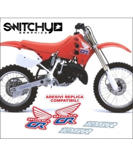 DECALS REPLY OEM '90 - HONDA CR 125 1989 - 1990
