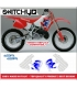 GRAFICHE REPLICA '93 - HONDA CR 250 1992 1993 1994