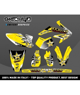 WINGS YELLOW - HM 50 ENDURO