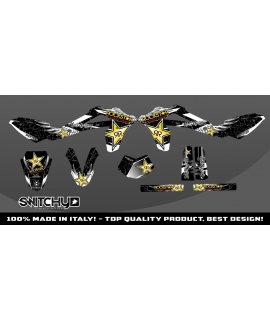 WINGS BLACK - HUSQY WR 125 2010 2011 2012 2013
