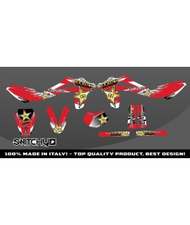 WINGS RED - HUSQY WR 125 2010 2011 2012 2013