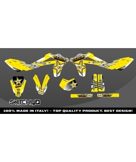 WINGS YELLOW - HUSQY SM SM-R 450 2005 2006 2007