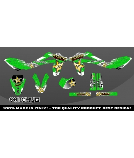 WINGS GREEN - HUSQY WR 125 2010 2011 2012 2013
