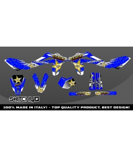 WINGS BLUE - HUSQY WR 125 2010 2011 2012 2013