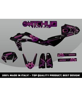 FAST PURPLE BLACK - HUSQY SM SM-R 450 2008