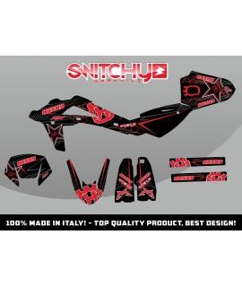 FAST RED BLACK - HUSQY SM 125 S 2006