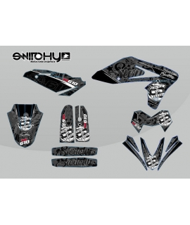 KIT ADESIVI GRAFICHE 2.0 BLACK per moto SM 610 dal 2005 al 2010 DECALS