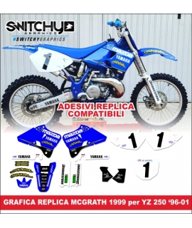 REPLICA MCGRATH '99 - YAMAHA YZ 250 DAL 1996 AL 2001