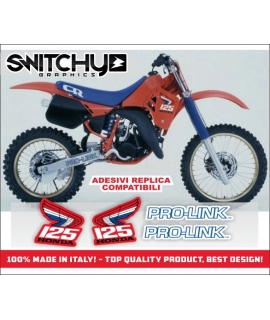 REPLY '88 - HONDA CR 125 R 1987 - 1988