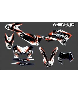 SKULLZ - EXC-F 250 350 450 2008 2009 2010 2011