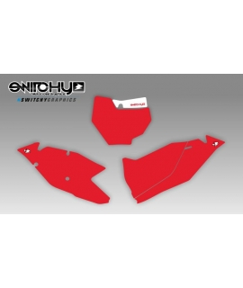 RED PLATES - SX 250 2017 2018
