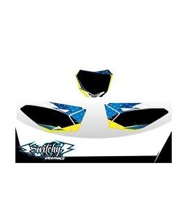 RACE PLATES - SUZUKI RM-Z 250 2010 - 2018