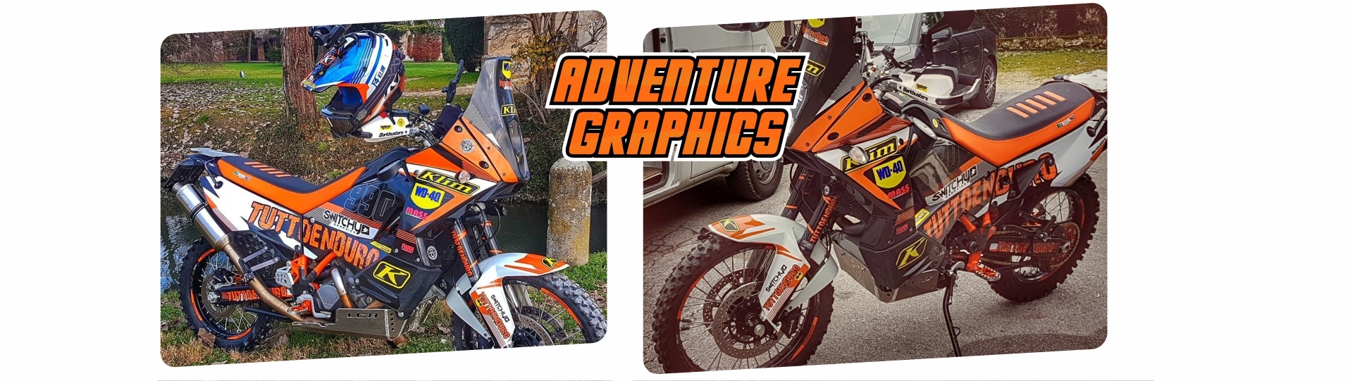 COMPATIBLE STICKERS FOR KTM 990 ADVENTURE