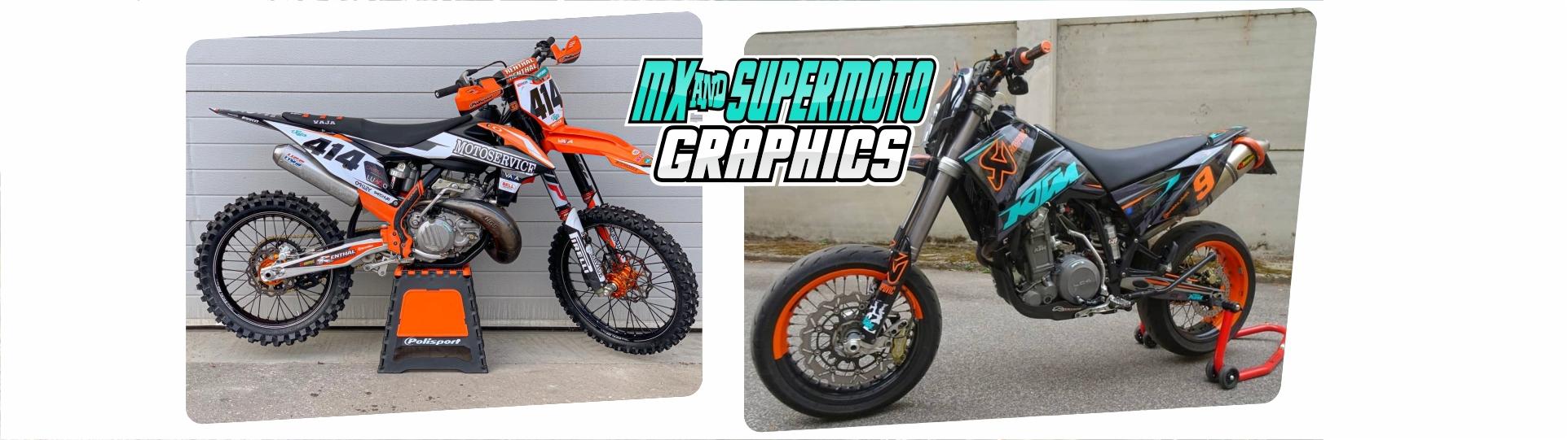 Grafiche per Motocross e Supermoto